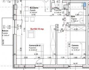 Apartament 2 camere, 54 mp, 2 balcoane, etaj 1 din 3, lift, garaj, Marasti, Ira