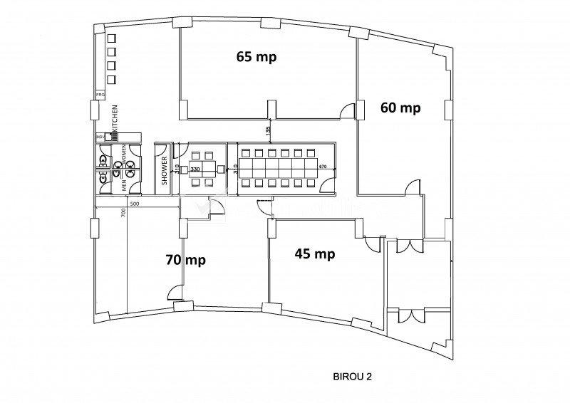 Birouri moderne 362mp utili, Plopilor Vest - Parcul Babes