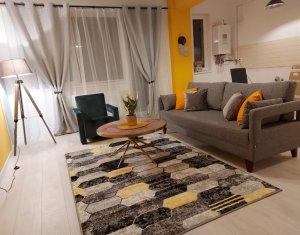 Apartament 2 camere mobilat si utilat, nou, Floresti Urusagului