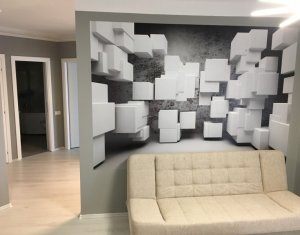 Apartament nou de 3 camere, finisat recent, mobilat si utilat complet !