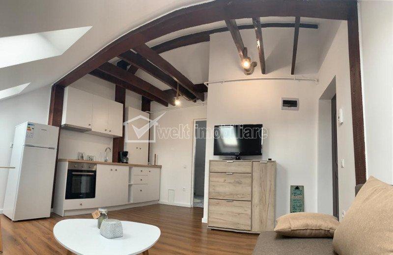Apartament de inchiriat in bloc nou, 2 camere, Iris, 34 mp, mobilat si utilat