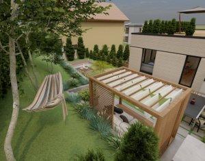 Apartament cu gradina si panorama deosebita, in cartierul Gruia