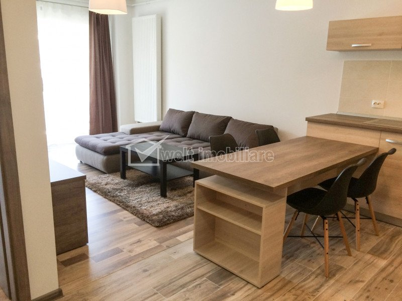 Inchiriere Apartament 2 camere, Bonjour Residence. Parcare subterana