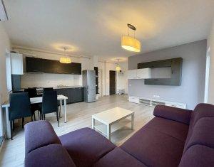 Apartament cu 3 camere, bloc nou 68 mp, terasa, zona pod IRA, parcare subterana