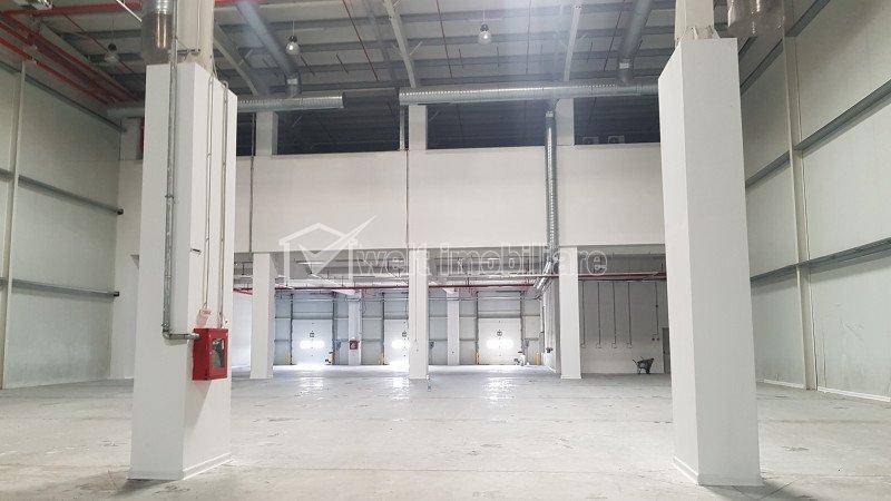 Depozit 6057mp, H=10m, platforme betonate, Someseni zona Aeroport