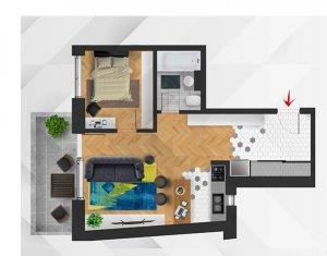 OFERTA de TOP! Apartament 2 camere, balcon, imobil nou in zona CENTRALA