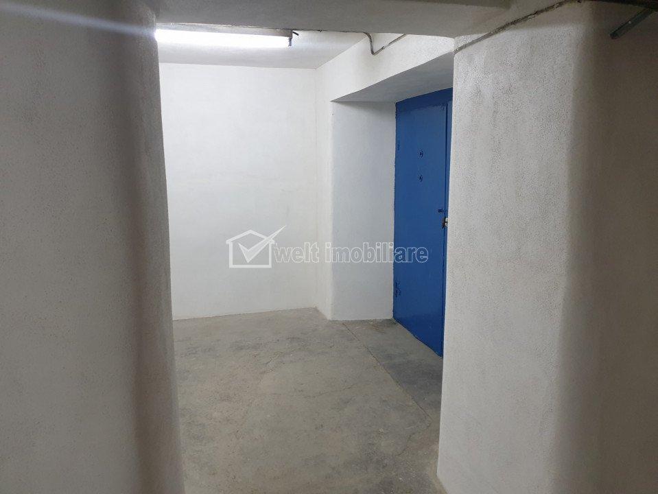 Subsol depozitare 248mp in Clujana, acces auto, 2 intrari