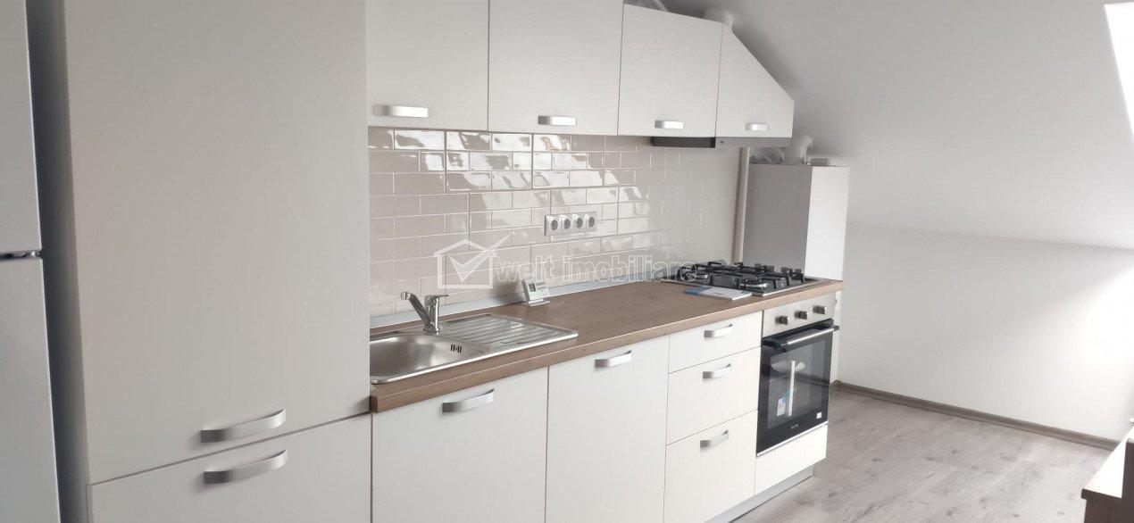 Totul nou! Apartament 2 camere + pod, zona Dumitru Mocanu