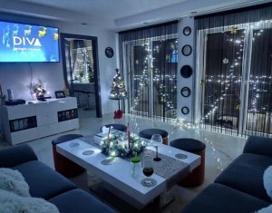 Apartament 2 camere, Floresti, strada Fagului, ultrafinisat, terasa de 23 mp