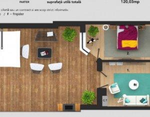 Apartament cu 2 camere, parter inalt, terasa, Buna Ziua