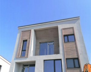 Casa individuala moderna, cu priveliste superba, 215 mp, teren 600 mp