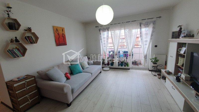 Apartament 2 camere, mobilat, utilat complet, strada Eroilor, Floresti