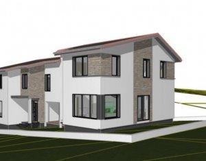 Vanzare duplex in Borhanci, 126 mp util, garaj, teren 250 mp, finalizare 2021