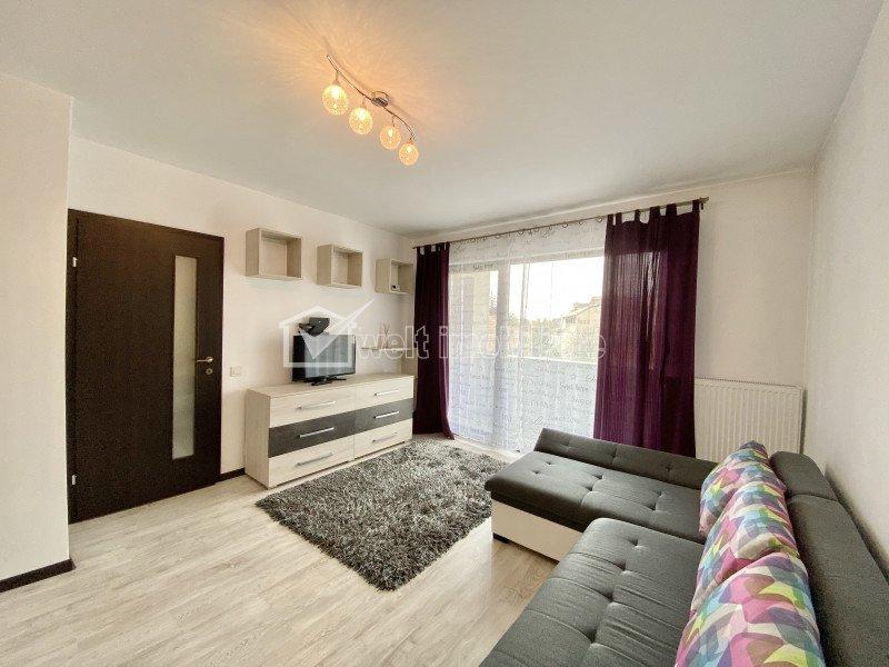 Inchiriere Apartament 1 camera, cartier Marasti, zona Farmec, imobil nou
