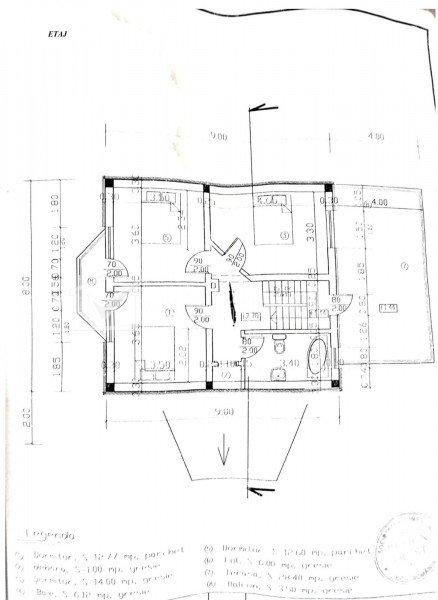 Casa individuala, Dezmir, 150 mp, garaj, 3 dormitoare, teren 540 mp