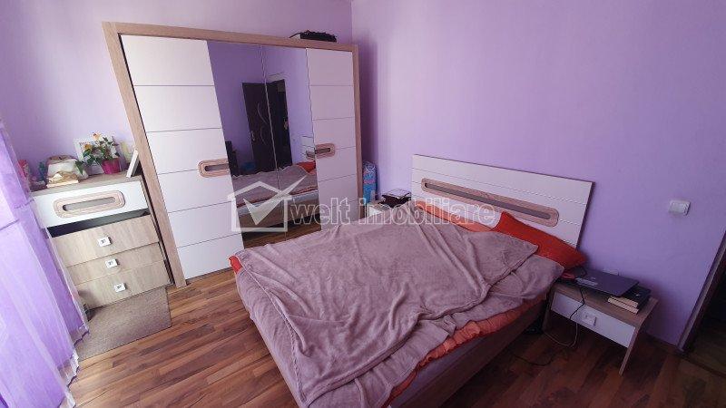 Apartament cu 3 camere, finisat, Floresti, zona Florilor