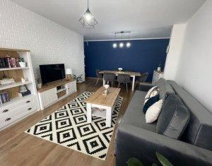 LUX ! Apartament cu 3 camere + balcon, bloc nou, zonă semicentrală, Marasti