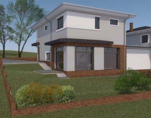 Casa individuala 4 camere, 166 mp utili, 450 mp teren, Borhanci