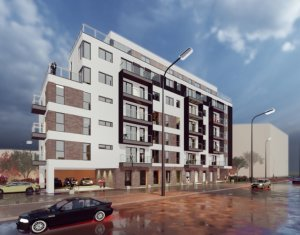 Semicentral - Vanzare apartament 3 camere, bloc nou, zona garii