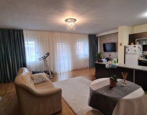 Apartament 2 camere, 67 mp, etaj 2, curte privata, balcon, parcare, Someseni