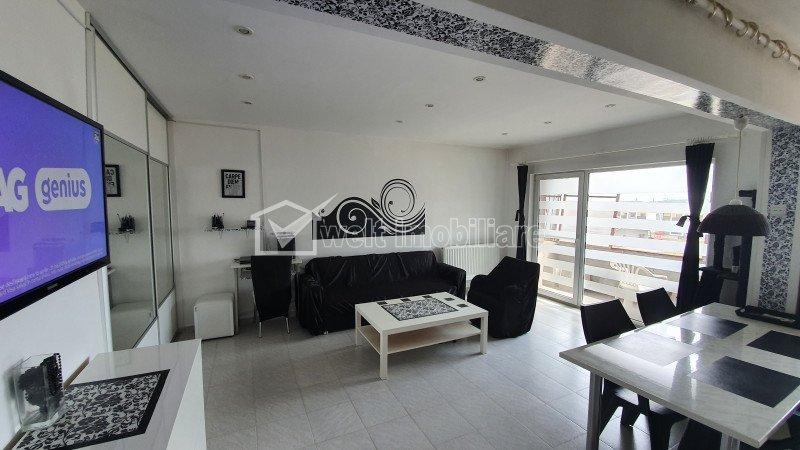 Apartament cu 2 camere, finisat, Floresti, zona Sesul de Sus