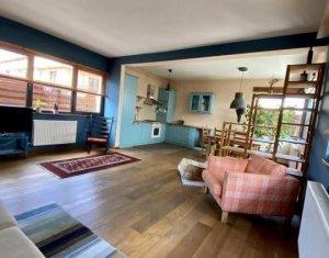 Apartament 2 camere, 65 mp, modern, terasa 47 mp, garaj, Borhanci