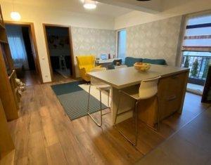 Apartament 3 camere , cartier Buna Ziua, mobilat, utilat, garaj