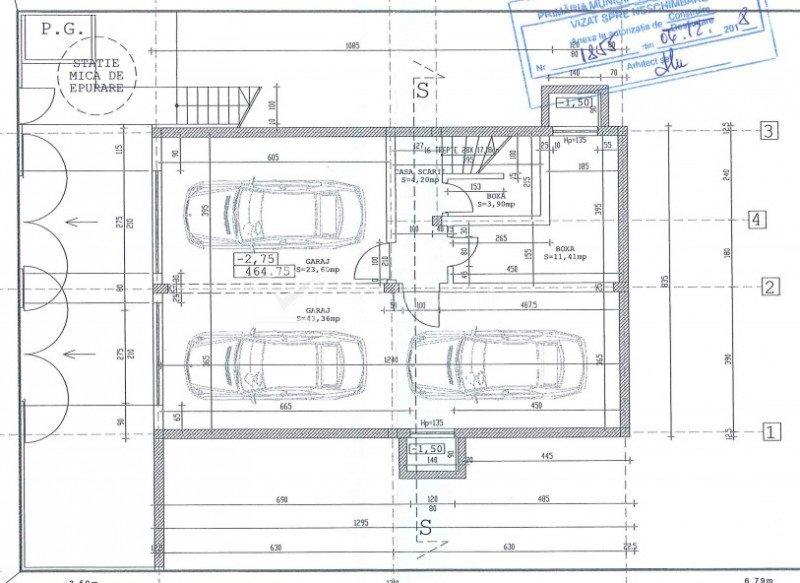 Duplex 3 camere, curte privata 108 mp, garaj