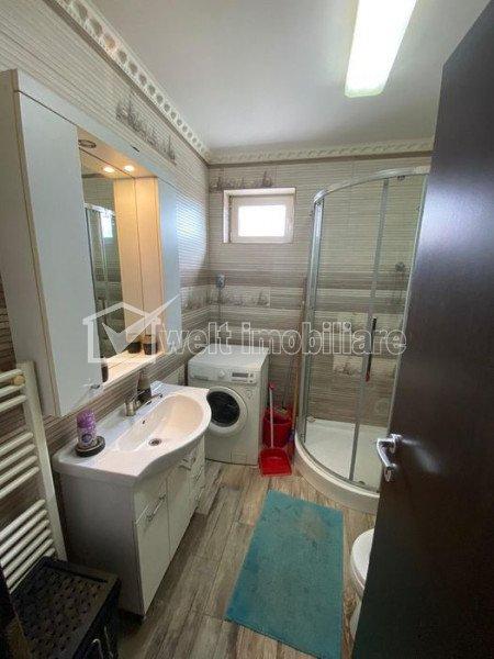 Zona PETROM Baciu - 3 camere, mobilat, utilat, terasa, parcare, etaj intermediar