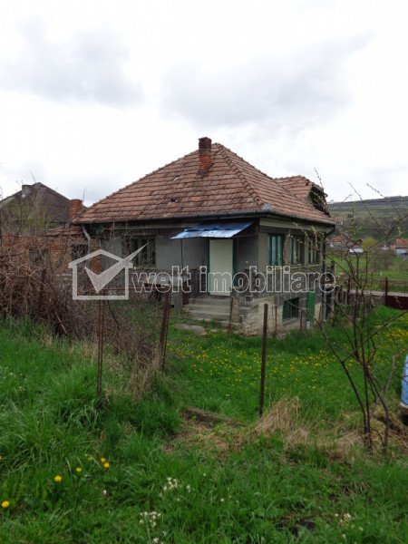 Casa intabulata de renovat/demolat cu teren 3360 mp, Chinteni, 2 fronturi