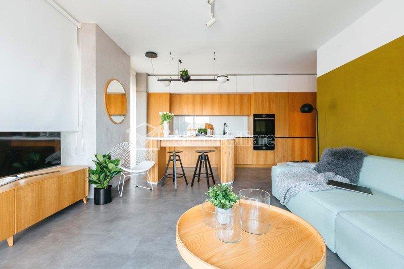 Apartament 2 camere, lux, terasa 16mp, etaj 6, garaj si boxa, zona centrala