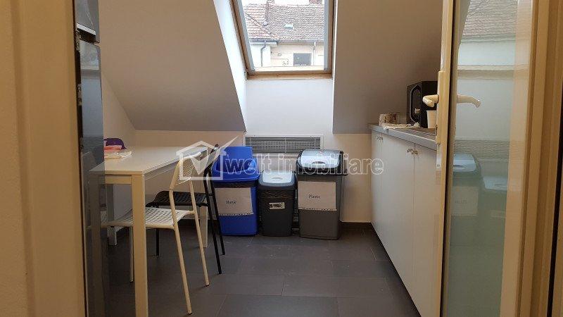 Spatiu birouri 325mp, str. Emil Racovita - Casa Alba, curte, parcari