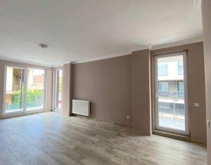 Apartament 2 camere 58 mp, cu terasa 27mp, bloc nou, zona semicentrala