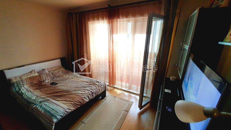 Apartament doua camere, decomandat, finisat, strada Cetatii, Floresti