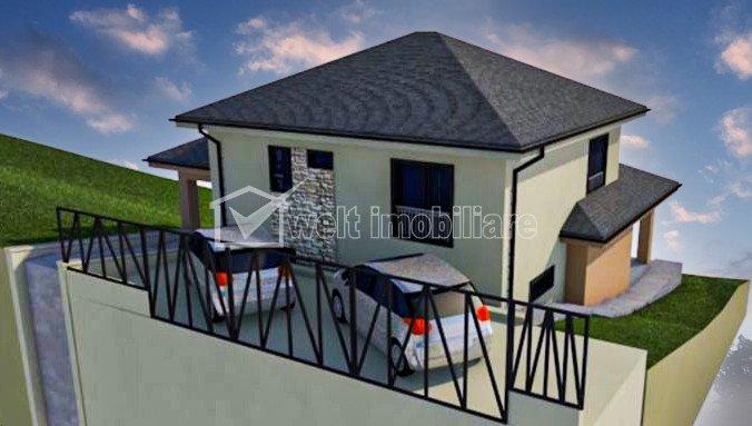 Vila individuala cu 4 camere, teren 600 mp, Chinteni, Cluj
