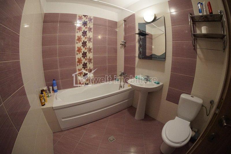 Apartament 2 camere + balcon, 52 mp, decomandat, zona Calea Turzii