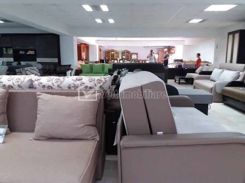 Spatiu comercial 600mp, productie depozitare showroom, zona Piata 1 Mai