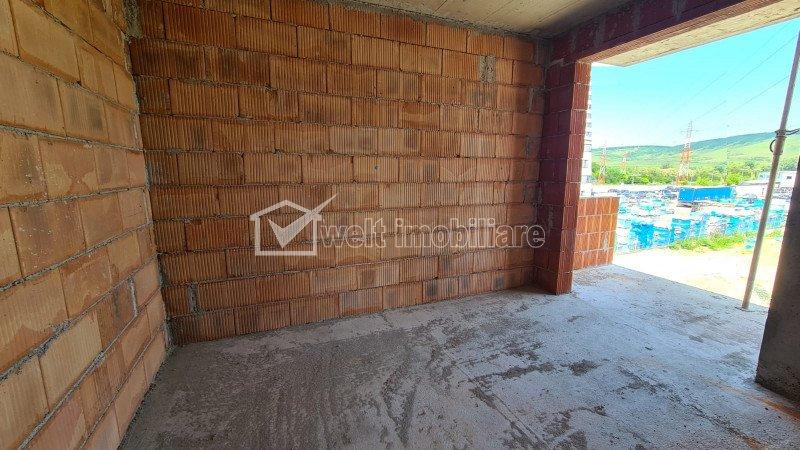 Apartament 2 camere, 46,5mp, logie 3,5mp,  etaj 3, parcare subterana, zona Vivo