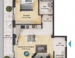 Appartement 2 chambres à vendre dans Baciu