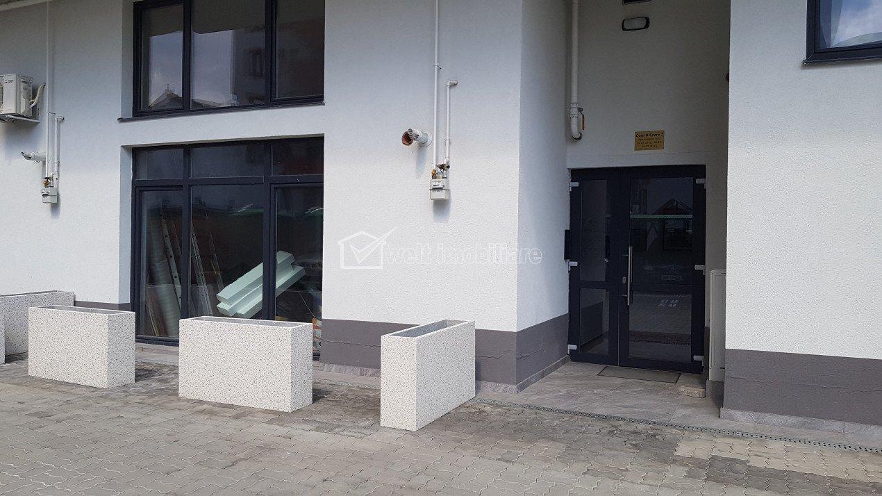 Apartament 64mp utili, parter cu terasa, H=5m, Piata Abator