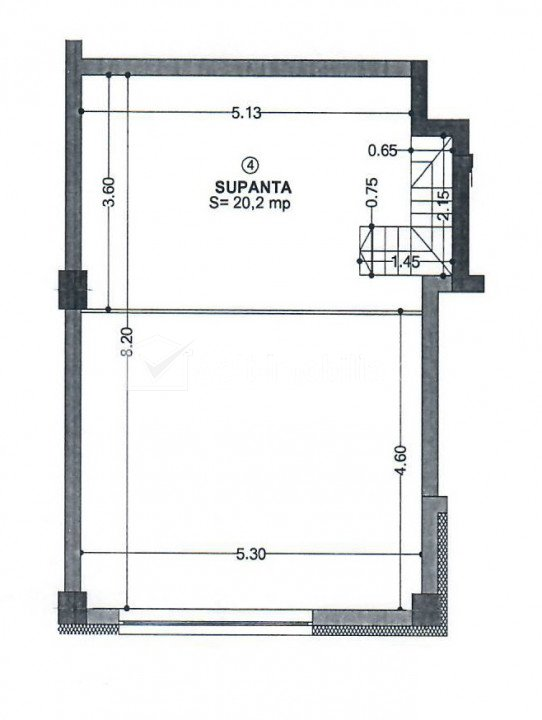 Birou 64mp utili, H=5m, parter cu terasa, Piata Abator, imobil nou
