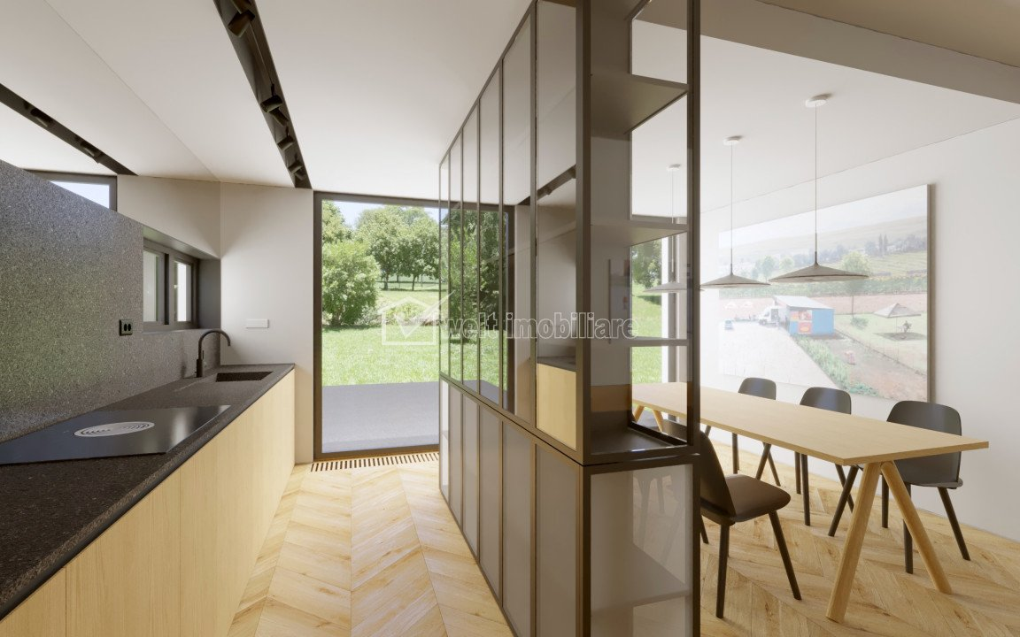 Casa premium, Gradina Botanica, 440 mp, teren 890 mp, finisata, partial mobilata