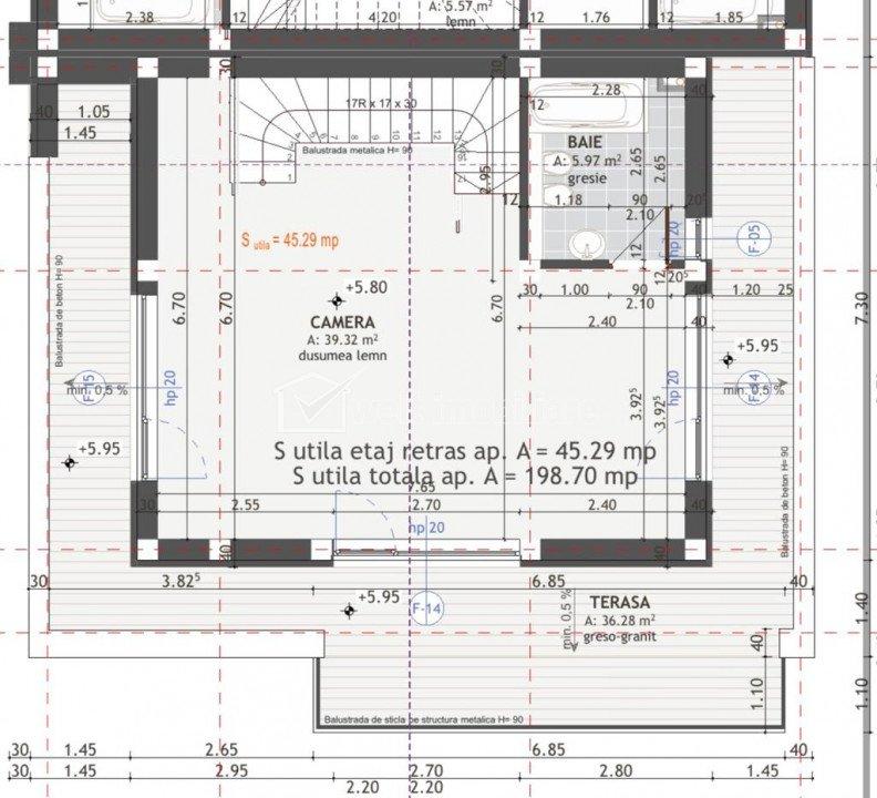 Vanzare duplex 6 camere, 200 mp utili, Grigorescu