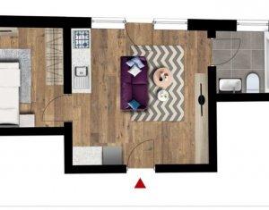 Apartament 2 camere, cu acces la gradina privata, Floresti