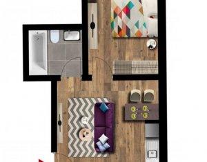 Apartament 2 camere, cu acces la gradina privata, Floresti zona Terra