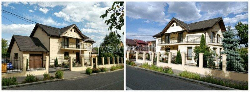 Vila impresionanta, 5 camere, 145 mp, 520 mp teren, garaj, Dambul Rotund
