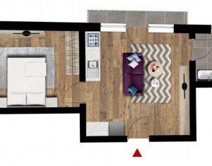 Apartament 2 camere si 2 balcoane, Floresti