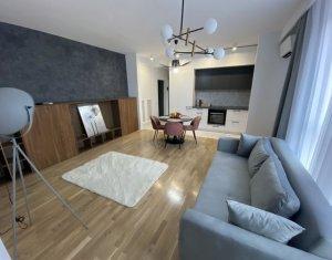 Apartament 2 camere, 45 mp, 2 terase, AC, parcare, Borhanci