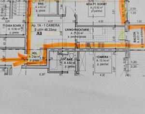 Apartament de vanzare in bloc nou, 2 camere, Zorilor, panorama deosebita