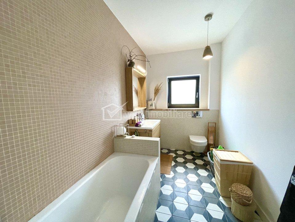 Apartament de lux, Borhanci, 69 mp, parcare, bloc nou tip vila, ready to move